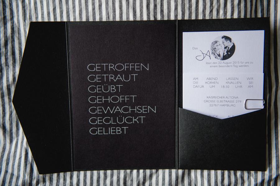 Einladungskarte, Hochzeit, Hamburg, Fotograf, Kathrin Stahl